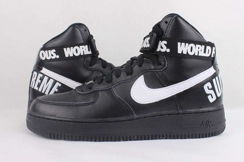 Nike Air Force 1 High Supreme Black White Sneaker
